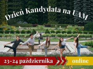 Dzień Kandydata na UAM – online