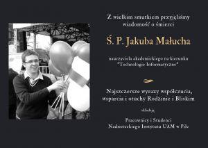 Zmarł Jakub Małuch